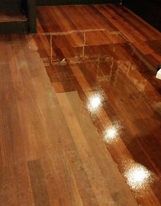 Cafe Wooden Floor Strip and Seal